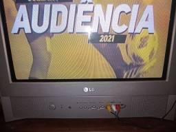 TV analógica de 21 pol. LG