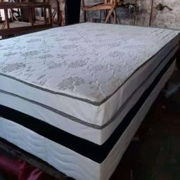 Cama Box Casal d28 nova entrega imediata // cama super luxo