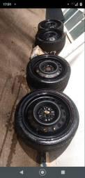Roda de ferro aro 15 4x100