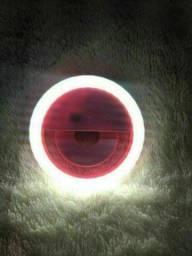 Refletor Iluminador Luz Selfie Foto Blogueira Gravação Vídeo