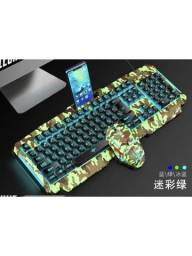 Kit Teclado E Mouse Gamer Xtrad