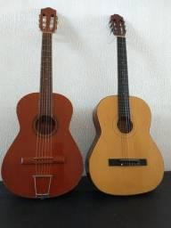 2 violões um da marca seresta, um Michael vm 10