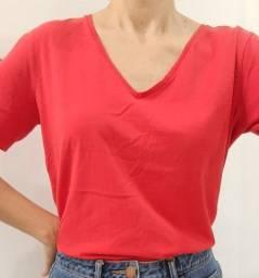 Blusa Renner vermelha M nova