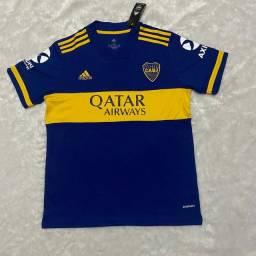 Camisa de time Boca Junior