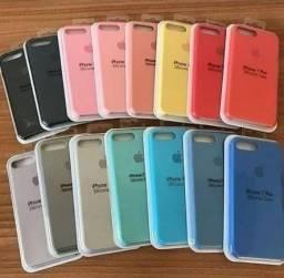Capa Iphone Original Apple Capinha Capa Case Silicone iPhone 6 6s 7 Plus 8 x 11