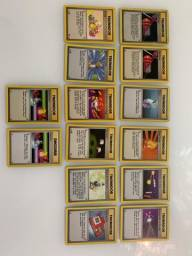 Pokemon | Lote Trainers | Base Set | 1999 - RARO - Todos os cards da foto