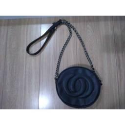 Bolsa tiracolo couro