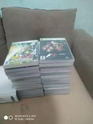 Xbox usado poucas vezes com 41 jogos vendo ou troco por iPhone.