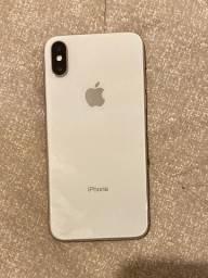 Iphone x  siver 64 gigas