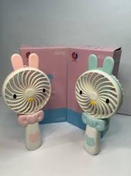 Mini Ventilador Portátil Cartoon Fan