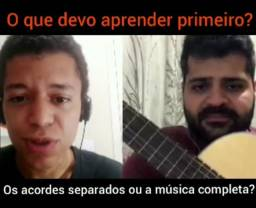 Aulas de violão para iniciantes Online - Aprenda no conforto da sua casa