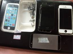 iPhone 5c e 5s peças placas display