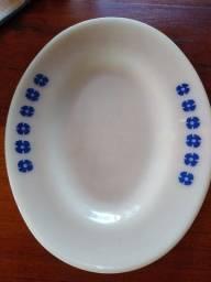 Bandeja de porcelana antiga