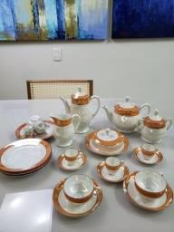 Jogo de Chá Porcelana Alemã