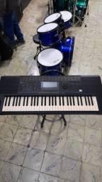 Teclado Yamaha PSR 520 Yamaha sensitivo na Musical Brothe