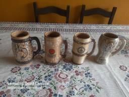 04 Canecas de porcelana maçonica. 04 por 99,00 ou 30,00 cada