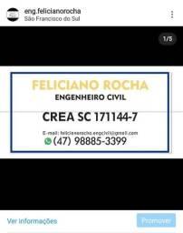 Engenheiro civil creasc 171144-7