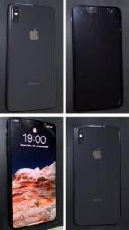 IPhone XS Max 64 GB Preto (tela trincada)