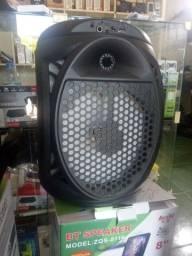 Caixa de som Bluetooth amplificada karaoke promoção