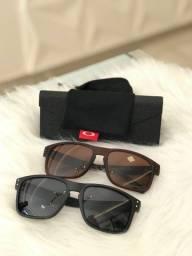 IMPERDÍVEL! Óculos de Sol OAKLEY  Polarizados! 100% Proteção UV400! Aceitamos cartão!