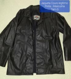 Jaqueta Couro e Abrigo Adidas