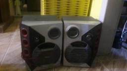 Empresora hp muito boa e 2 caixas de som as 2 caixas sao 100 reais