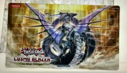 Yugioh! Playmat Cosmo Blazer Oficial Konami