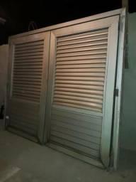 Portao de aluminio super resistente