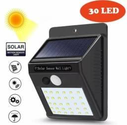 30 Led Movido A Energia Solar