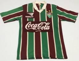 Camisa do Fluminense Penalty anos 80 bem conservada