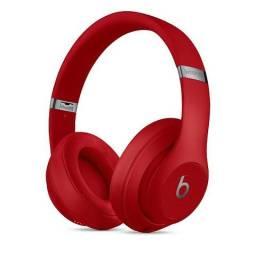 Fone Apple Beats Studio3 Wireless Over-ear Headphones Vermelho