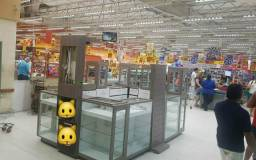 Quiosque para shopping ou supermercado