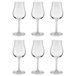 Conjunto 6 Taças Classic 390Ml Para Vinho Tinto Ym12-2450 Oxford - NOVO