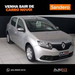 RENAULT SANDERO 2015/2016 1.0 AUTHENTIQUE 16V FLEX 4P MANUAL - 2016
