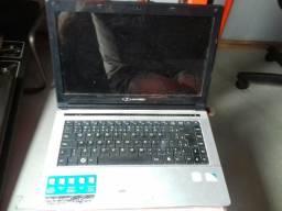 Vendo notebook buster hd 500 g .2 g memoria ham