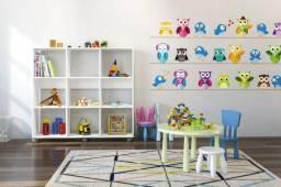 Prateleira porta-livros e brinquedos infantil 100% MDF c/ preços a partir de R$ 99,00