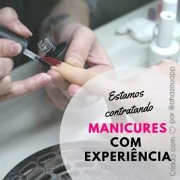 Contrato manicure com experiência