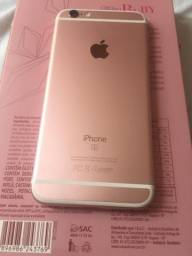 Iphone 6s rose impecável