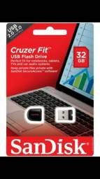 Mini Pen Drive Nano Sandisk Cruzer Fit Z33 32gb Lacrado