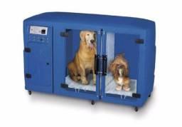 Máquina de secar cachorro Kyklon Azul