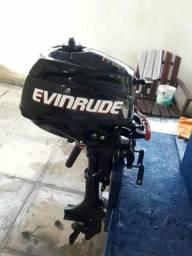 Motor Envirude 3.5HP R$4.500-nunca usado