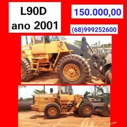 Pá carregadeira L90D