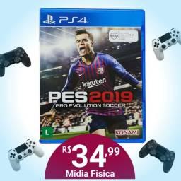 PES 2019 Mídia Física para PS4