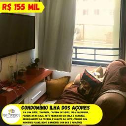 VENDO Apartamento (TODO REFORMADO) no RESIDENCIAL ILHA DOS AÇORES (Jabotiana)