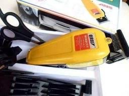 Promoção Máquina de Cortar Cabelo Qirui Kit Completo! pronta entrega