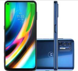 Smartphone Motorola Moto G9 Plus 128GB Azul Indigo - Octa-Core 4GB RAM 6,8? Azul Índigo