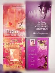 Livros Zibia Gasparetto e God of War