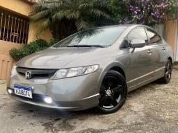 Honda Civic LXS Automático 2008 Flex 2020 Pago - 2008