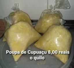 Poupa de cupuaçu 8 reais o kilo