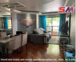 Apartamento de 3 quartos para locação, 100m2
